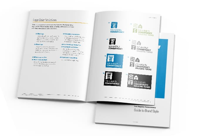 logo use and style guidelines book